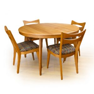 Dining Table, Round Extended Seats 6