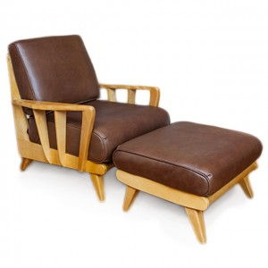 "Club Chair Ottoman Combo ""The Biscayne Collection"""