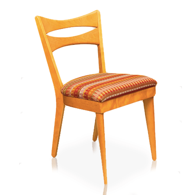 "Dining Chair, Side ""Cat's Eye"""