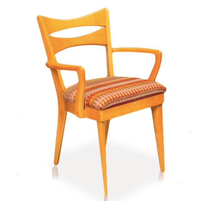 "Dining Chair, Arm ""Cat's Eye"""