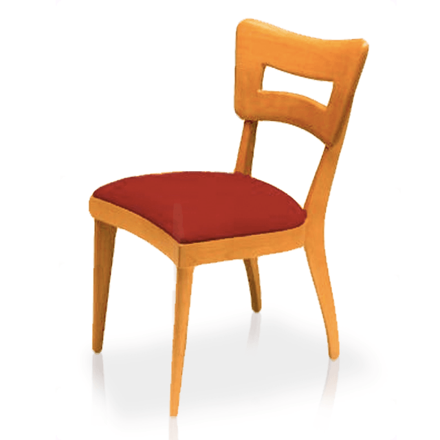 "Dining Chair, Side ""Dog Biscuit"""