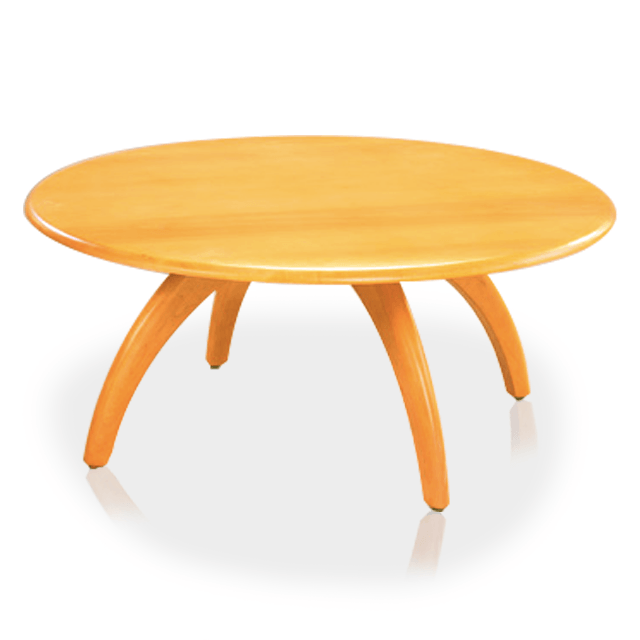 Round Revolving Cocktail Table