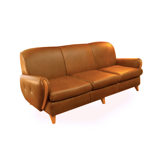 "Davenport, Leather ""The Margaret Collection"""
