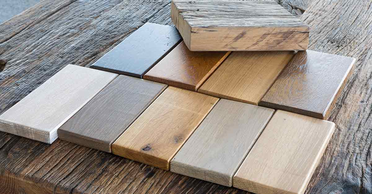 10 Decorating Tips for Combining Different Types of Wood or Wood Finishes