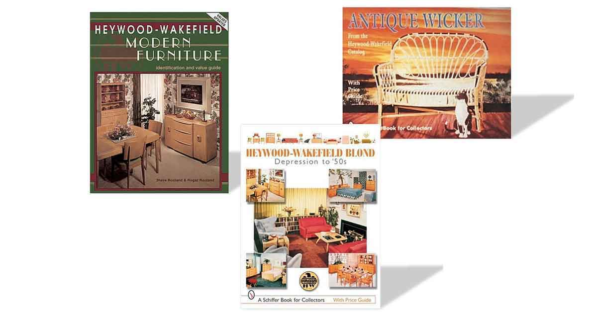 Books About Vintage Heywood-Wakefield Mid-Century Modern Furniture