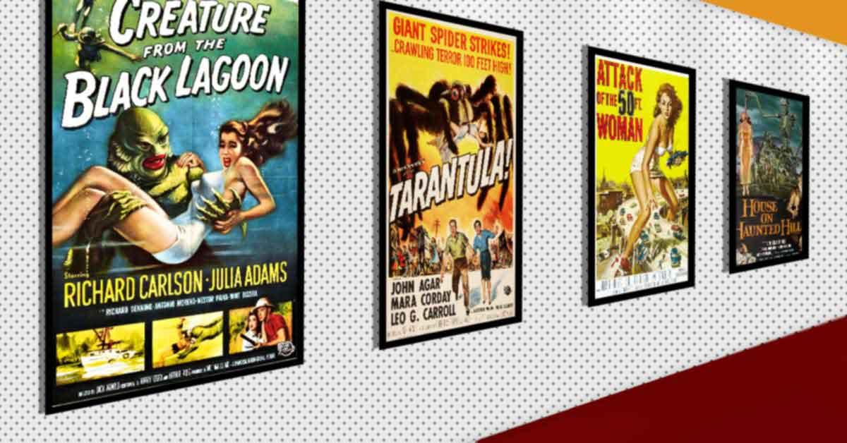 25 Spooktacular 1950s Horror Films