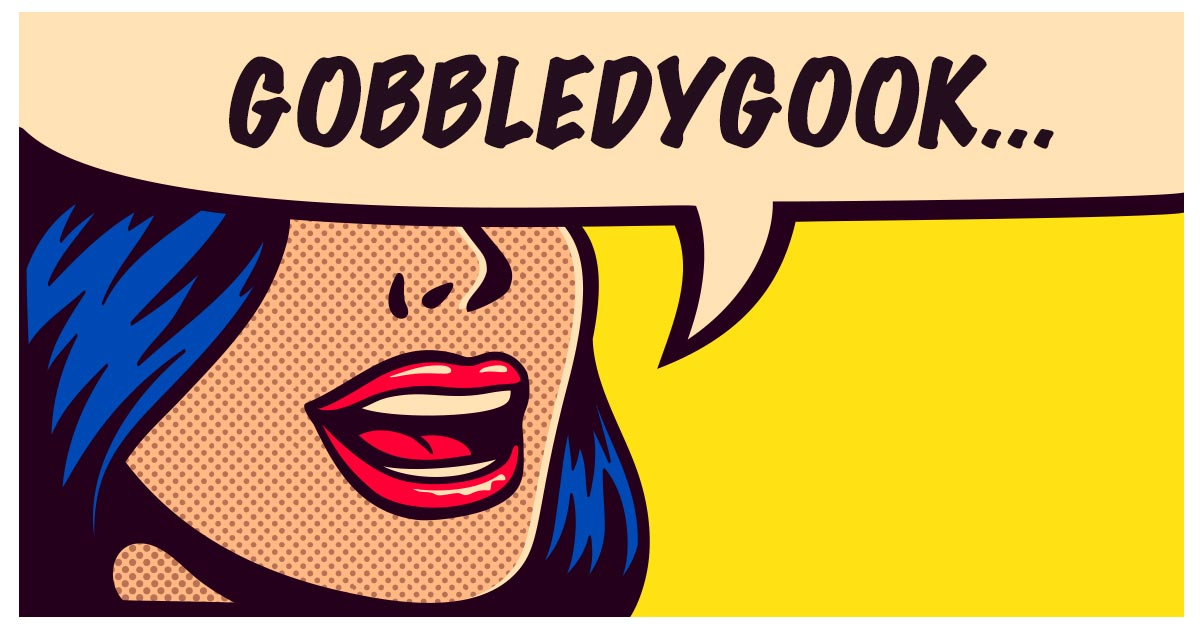 Gobbledygook? Nope, It's Slang from the 1940s!