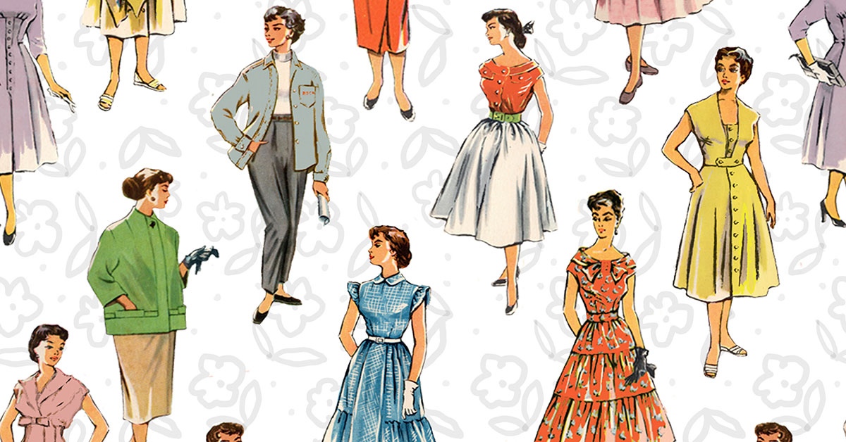 5 Important Women's Fashion Designers of the 1950s