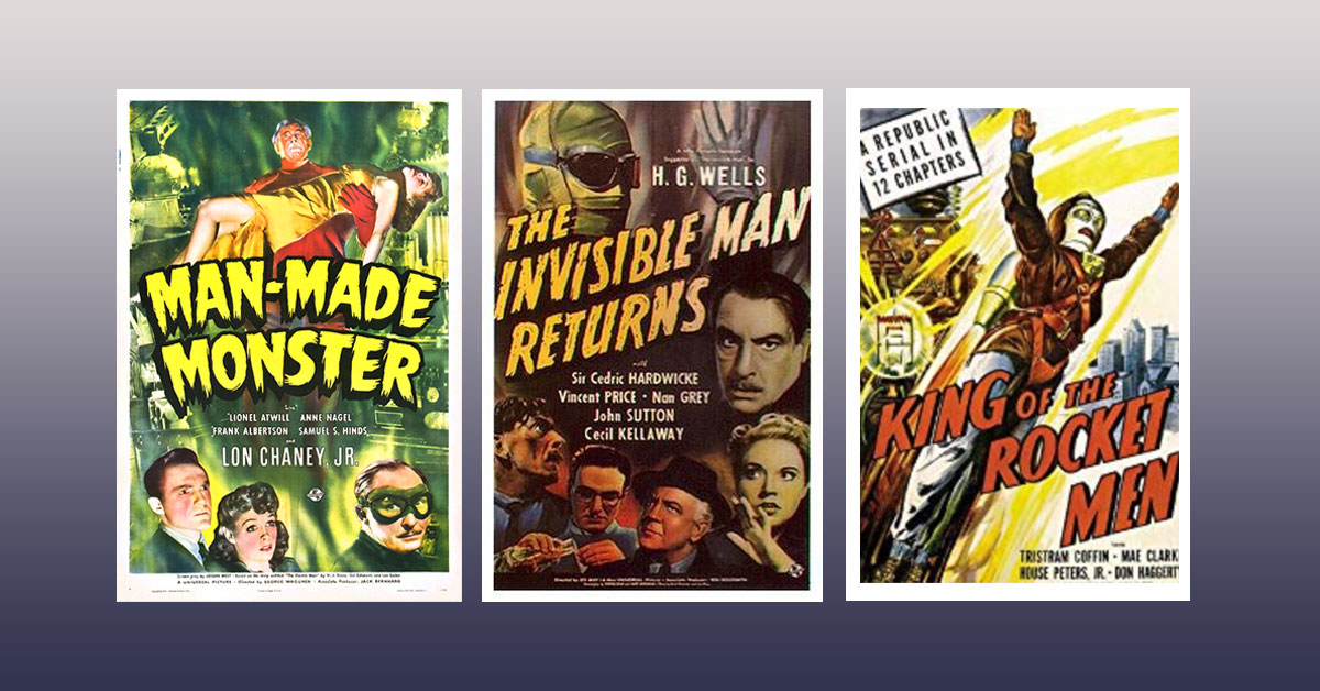 10 Classic Sci-Fi Movies from the 1940s