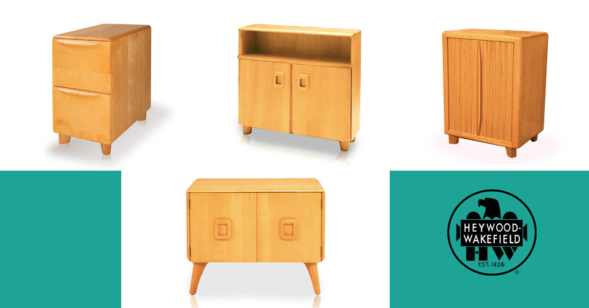 4 Stylish Small Storage Furniture Pieces from Heywood-Wakefield