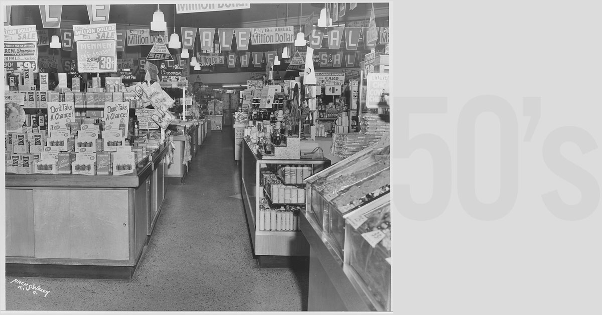 Supermarkets in the 1950s: Changes to How Americans Bought Groceries