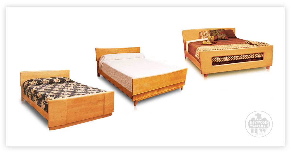 3 Beautiful Solid Wood Beds from Heywood-Wakefield